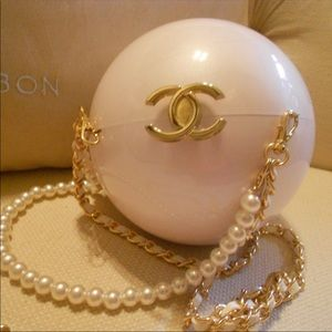 Chanel pearl bag